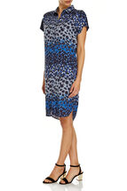 Donna Printed Tencel Dress