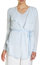 Signature Stripe Knit Cardi