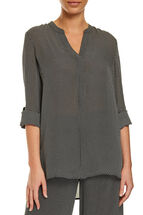 Signature Spot Silk Shirt