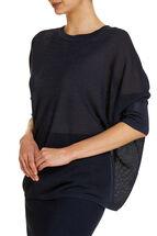 Signature Batwing knit jumper