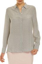 Signature Silk Tile Shirt