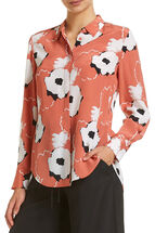 Signature Floral Silk Shirt