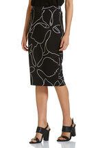 Cindy Linear Floral Skirt