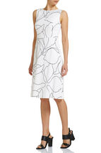 Cindy Linear Floral Dress