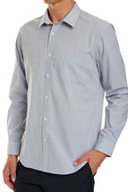 Long Sleeve Tapered Mini Gingham Shirt
