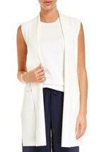 Signature Long Knit Vest