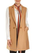 Signature Double Breasted Sleeveless Vest