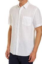 Short Sleeve Linen Shirt