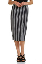 Signature Striped Wrap Skirt
