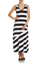 Signature Stripe Maxi Dress