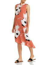 Signature Floral Asymmetric Dress