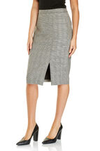Signature Checked Pencil skirt
