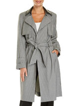 Signature Puppytooth Trench