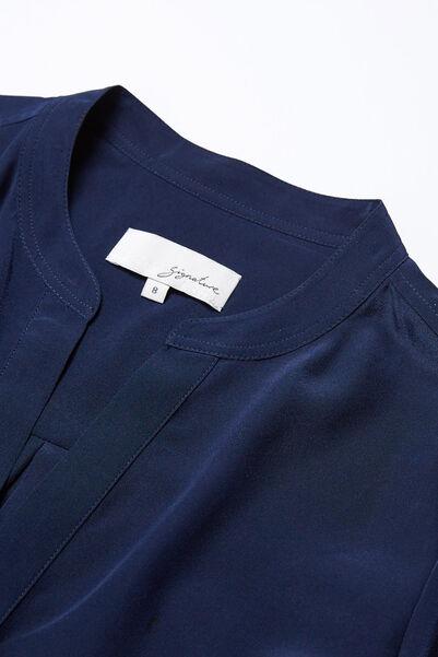 Signature Longline Silk Tunic