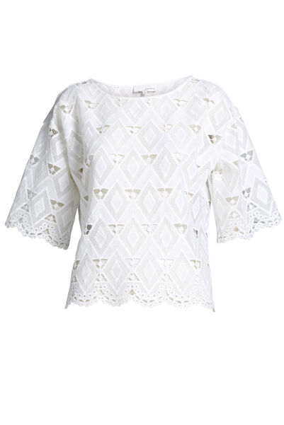 Signature Lace Shell Top