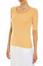 Heidi 1/2 Sleeve Stripe