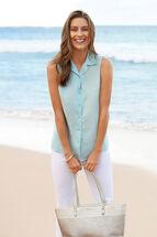 Stella Sleeveless Shirt