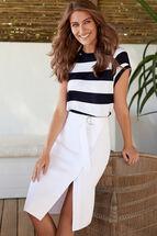Addison Wrap Utility Skirt