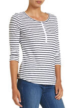 Anne Stripe Henley