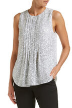 Kitty Pleated Top