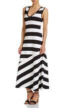 Signature Stripe Maxi Dress