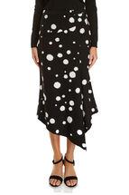 Signature Drape Asymmetric Skirt