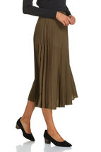 Signature Fontain Pleated Skirt