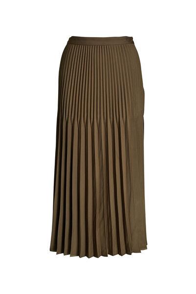 Signature Fontain Pleated Skirt