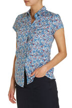 Vicky Liberty Cap Slv Shirt