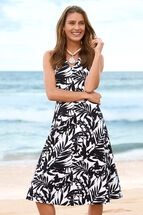 Edith Print Flip Dress