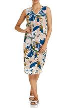 Sally Silk Print Dress