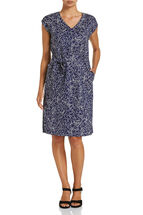 Saffron Print Dress