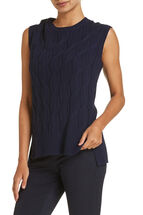 Louise Cable Knit Tunic