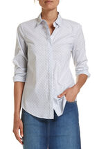 Georgina Spot/Stripe Shirt