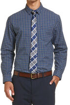 George Check Tie