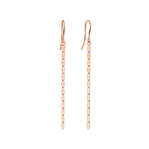 Strand Drop Earrings in 10kt Italian Rose Gold
