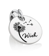 Wish Dangle Charm in Sterling Silver