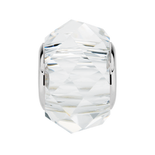 Clear Crystal Faceted Charm