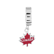 Sterling Silver Canada Maple Leaf Charm