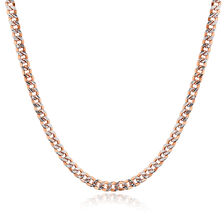 "45cm (18"") Chain in 10kt White & Rose Gold"