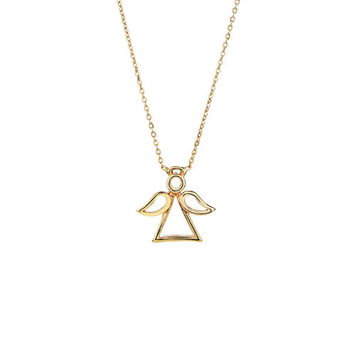 Mini Angel Necklace in 10ct Yellow Gold