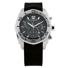 Men's Chronograph Watch in Stainless Steel & Resin