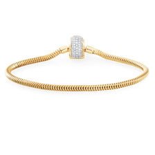 "1/2 Carat TW Diamond 21cm (8.5"") Charm Bracelet"