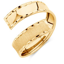 Bypass Ring in 10ct Yellow Gold