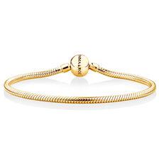 "17cm (7"") Charm Bracelet in 10ct Yellow Gold"