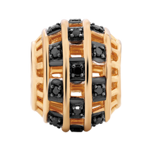 Enhanced Black Diamond Set Charm