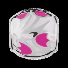Pink Tulip Enamel Charm