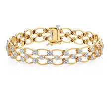 Tennis Bracelet with 2 Carat TW of Diamonds in 14ct White Gold