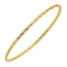 Online Exclusive - Bangle in 10ct Yellow Gold