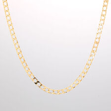"""Online Exclusive - 55cm (22"""") Curb Chain in 10ct Yellow Gold"""